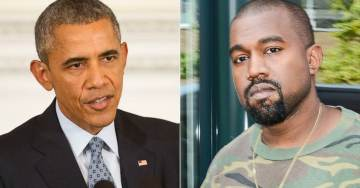 KANYE WEST IS ON A ROLL: Trashes Barack Obama…