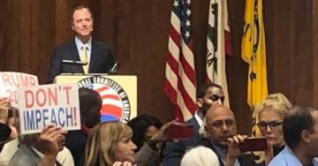Video: Adam Schiff Booed By Anti-Impeachment Protesters at Armenian Genocide Meeting
