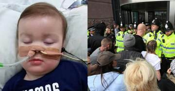 UK Police Investigating Social Media Posts Criticizing Baby Alfie Situation