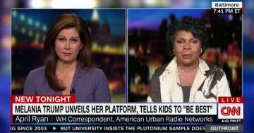 White House Calls Out CNN's April Ryan for Calling First Lady Melania Trump 'Not Culturally American'