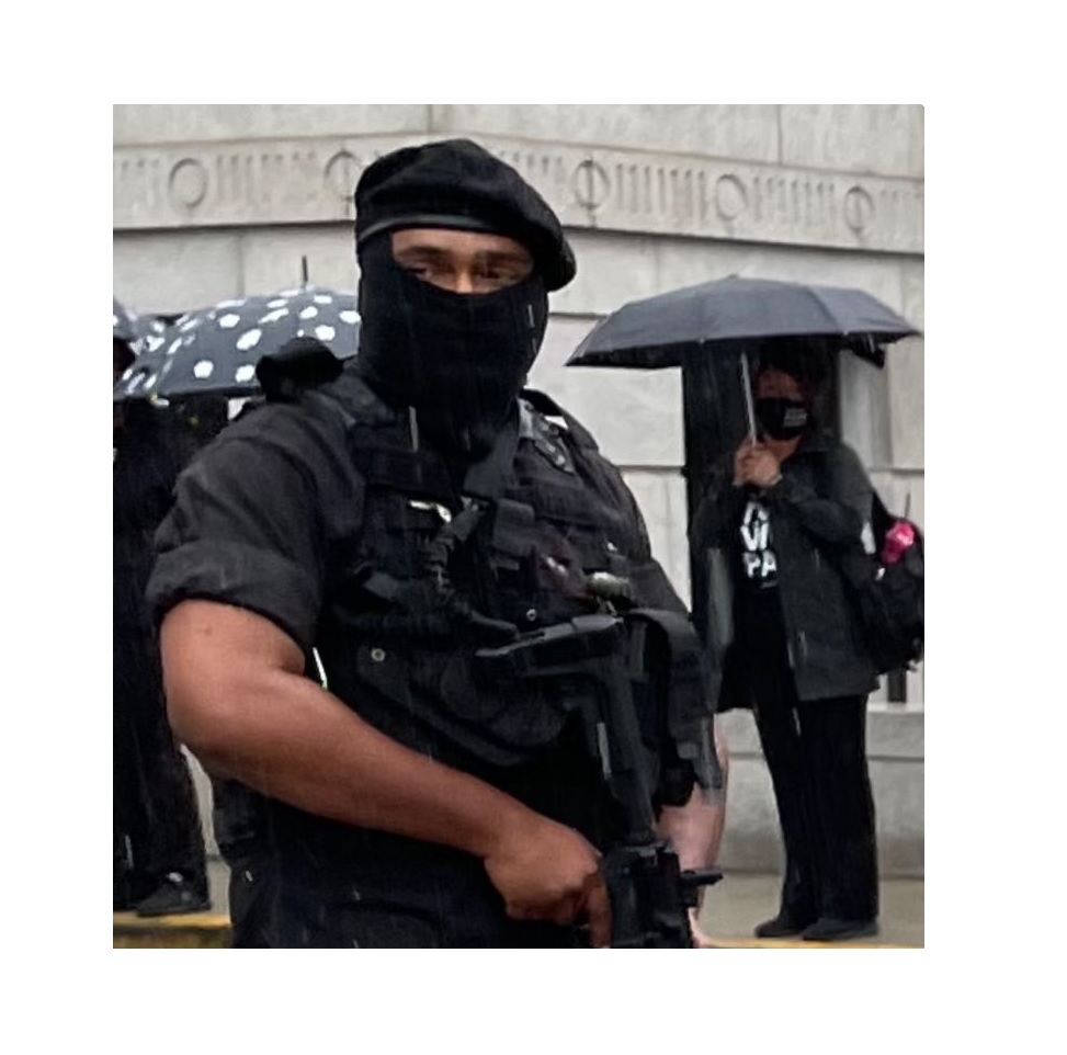 Armed Gunmen Appear at Georgia Capitol on Monday - But It's Ok - They're with Black Lives Matter