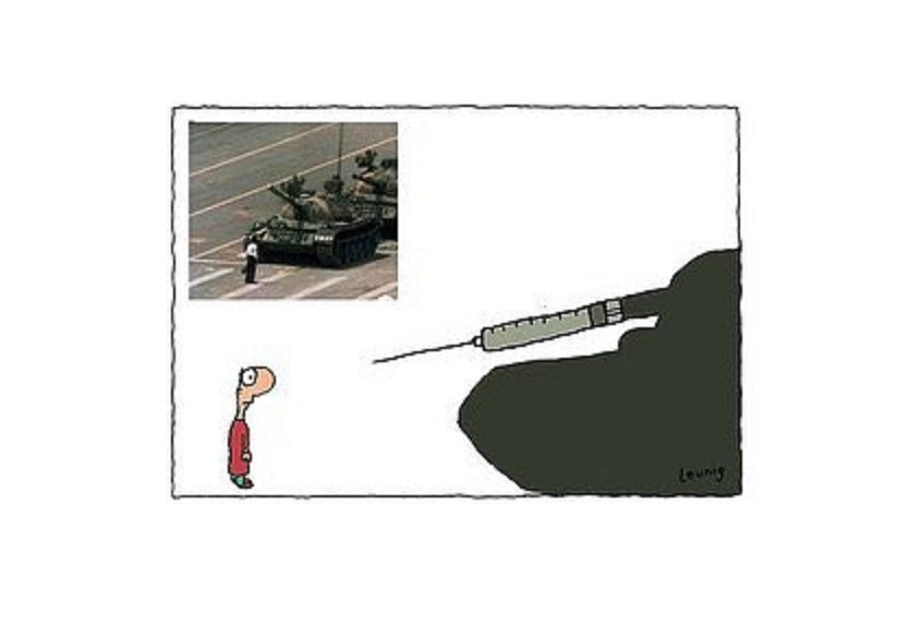 Aussie Cartoonist Fired After Comparing Australia's COVID-19 Mandates to the Tiananmen Square massacre