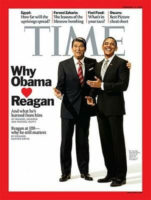 Obama Says He's Just Like Reagan – Here are the Top Five Reasons He Doesn't Even Come Close