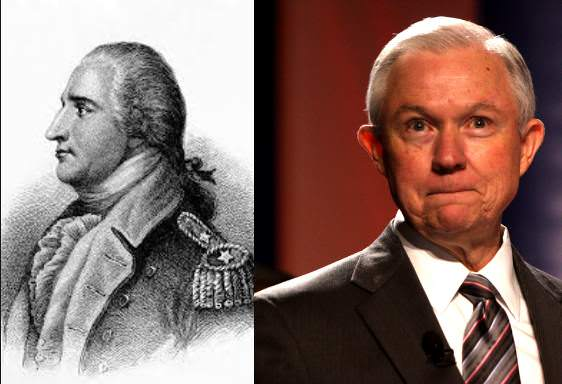 """Jeff Benedict Arnold Sessions"" Was Historic US Traitor – 'Stealth Jeff' Should Drop From the Alabama Senate Race Now"
