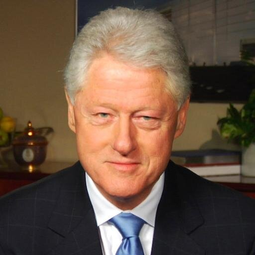 Bill Clinton Twitter profile