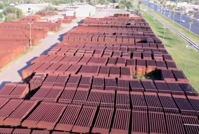 More Than $100 Million In Unused Border Wall Panels Rusting Away In Texas (VIDEO)
