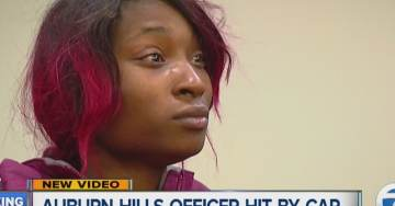 VIDEO=> Woman Held on Felony Charges After Trying to Run Over Cop During Traffic Stop