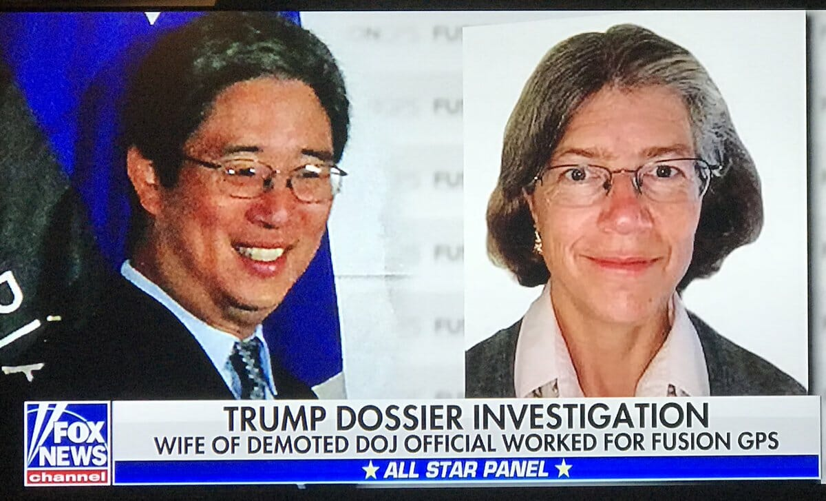 BREAKING: Nellie Ohr, Wife of Demoted Justice Official in Trump Dossier Case Who Worked for Fusion GPS, Also Worked for CIA