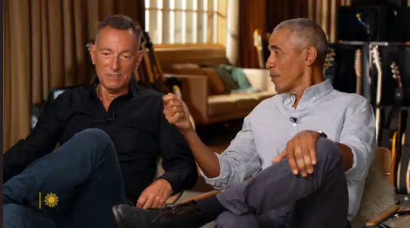 """Bruce Springsteen Throws His Fans Under the Bus, Agrees with Obama that His White Fans Would Have Called Clarence Clemons the """"N-Word"""" Offstage"""