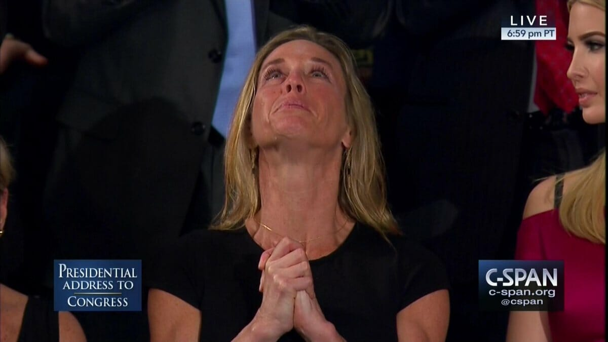 VIDEO: Trump Recognizes Widow of Navy SEAL Ryan Owens, Receives Extensive Standing Ovation