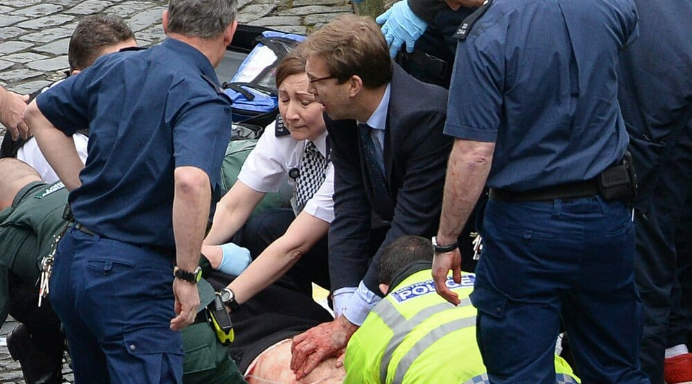 Conservative MP Tobias Ellwood Couragously Left Parliament to Give CPR to Dying Policeman
