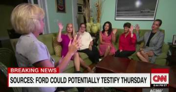 VIDEO=> Women Support Judge Brett Kavanaugh, Criticize Accuser Dr. Christine Blasey Ford