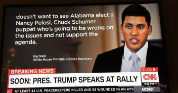 #FakeNews: Sarah Sanders Torches CNN for Using Photo of Obama Indian-American Official for Trump Deputy WH Press Secretary Raj Shah