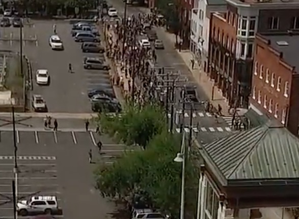 Never-Before-Seen Drone Footage from Charlottesville 2017 Protests Reveals Enormous Extent of Media Lies and Propaganda CVille-drone_1-10-12