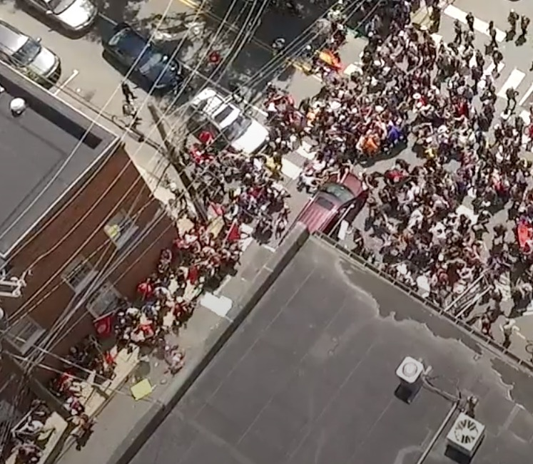 Never-Before-Seen Drone Footage from Charlottesville 2017 Protests Reveals Enormous Extent of Media Lies and Propaganda CVille-drone_1-15-07