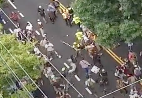 Never-Before-Seen Drone Footage from Charlottesville 2017 Protests Reveals Enormous Extent of Media Lies and Propaganda CVille-drone_20-35