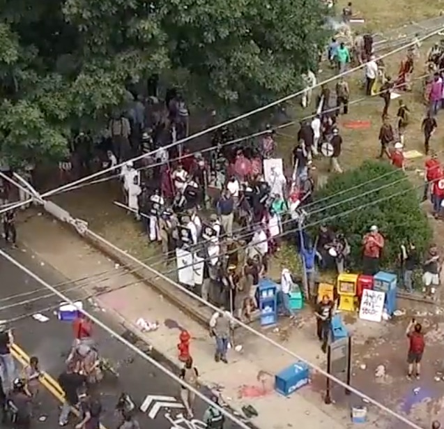 Never-Before-Seen Drone Footage from Charlottesville 2017 Protests Reveals Enormous Extent of Media Lies and Propaganda CVille-drone_24-30
