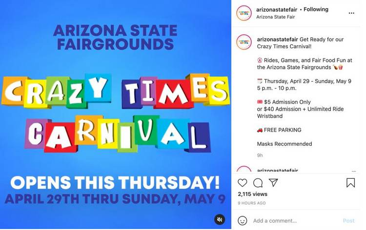 EXCLUSIVE: The Carnival is Coming to Town! Suddenly Booked and Now Open Right Next to Where the Maricopa County Election Audit Is Taking Place