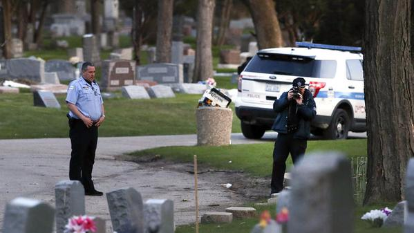 Chicago Gang Fight Causes $10K Damage To Cemetery