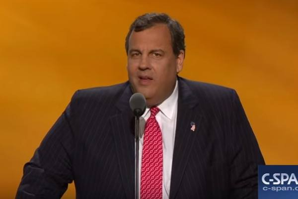 Chris Christie RNC