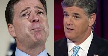 Hannity 'Cross-Examines' Comey After Damning Leak About Trump-Hating FBI Agent