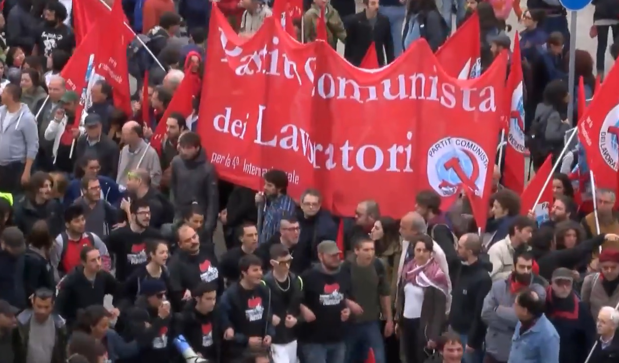 MAY DAY RIOTS! Communists Clash With Police; Burn Cars, Smash Windows (VIDEO)