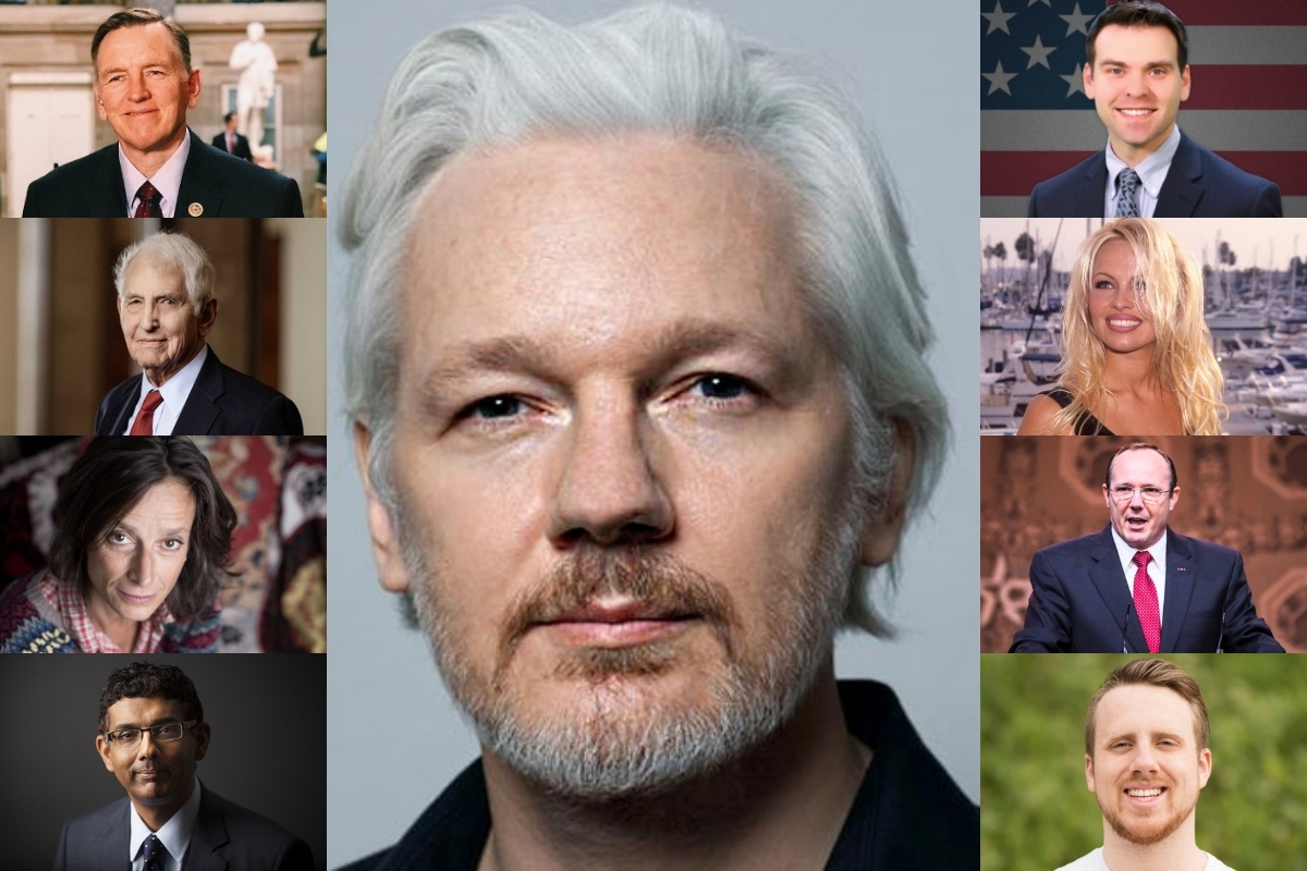 EXCLUSIVE: Politicians, Trump Allies, Nobel Winners, and More Sent Formal Letter to President Urging Pardon for Assange