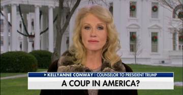'A Coup in America?' Liberals, Media Freak Over Fox News Chyron in Kellyanne Conway Interview About Mueller Investigation