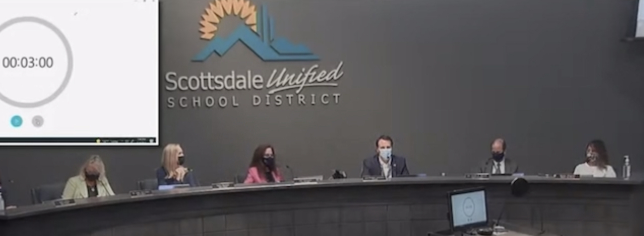 """(VIDEO) DISGUSTING School Board PRESIDENT: Whispers """"Jesus F– Christ, These People"""" After Parent Makes Comment"""