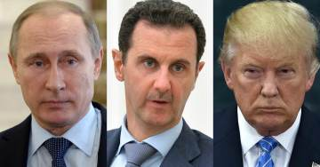 """POTUS Trump Threatens """"Animal Assad,"""" Calls Out Putin Over Alleged Chemical Attack In Syria"""