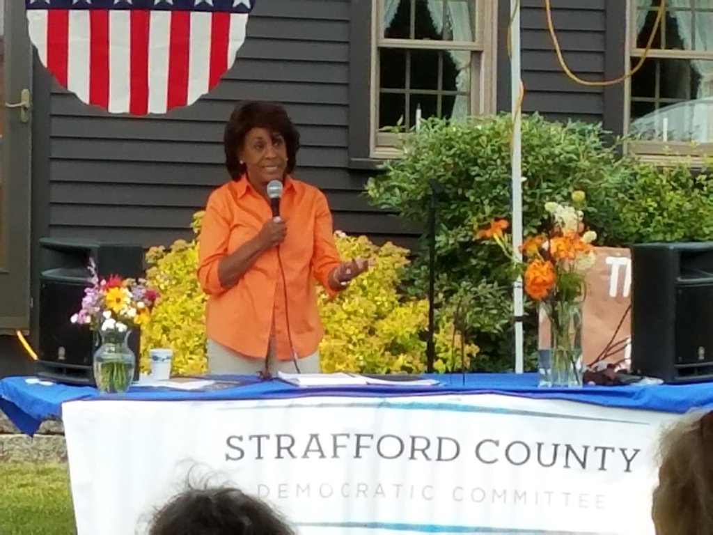 "Mad Maxine GOES OFF On ""Deplorable"" POTUS at New Hampshire Event Closed To The Press"