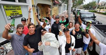 """Surfers Drink Beer and Party on South Beach Screaming """"F*ck You Irma!"""" (VIDEO)"""