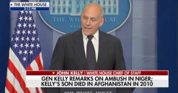 "GEN. KELLY: ""I Walked Around Arlington National Cemetery"" To Calm Down After Dem Rep.'s Criticism of POTUS (VIDEO)"