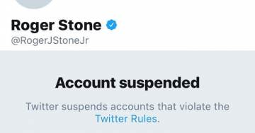 Roger Stone Suspended: Social Networks 'Violate Antitrust Laws', 'Must Be Prosecuted'