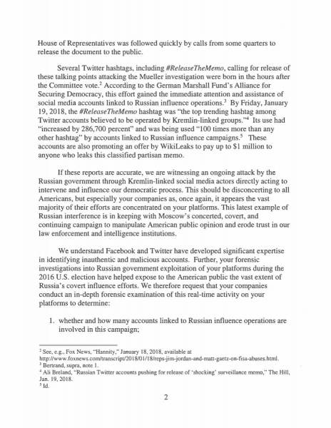 letter to facebook and twitter