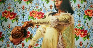 SICK: Artist Who Painted Obama's Official Portrait Known For Painting Blacks Beheading Whites