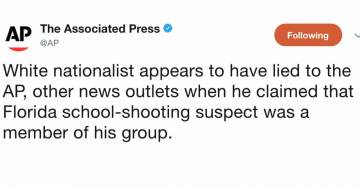 WHOOPS: AP Admits They Ran #FakeNews About Nicholas Cruz Being White Nationalist, Issue Strange Semi-Retraction