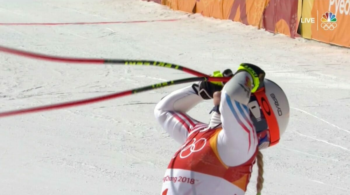 TRUMP CURSE=> Skier Lindsey Vonn Fails to Medal in Her First Olympic Event in 8 Years After Trashing Trump