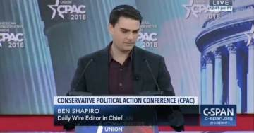 """CPAC Crowd Chants """"LOCK HER UP!"""" After Ben Shapiro Mentions Hillary Clinton is Not President (VIDEO)"""