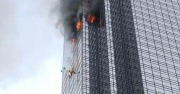 UPDATE: ONE DEAD After Major Fire Breaks Out At Trump Tower In NYC (VIDEOS)