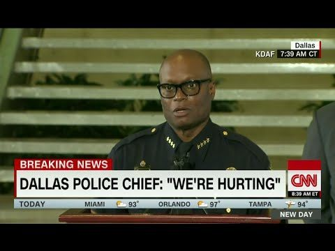 Dallas Chief Brown Hurting CNN