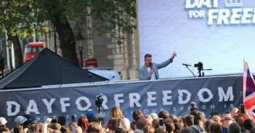 UK: Milo, Kassam, Robinson Draw Thousands As #DayForFreedom Targets Censorship And Political Repression