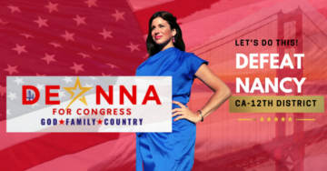 Beautiful, Young Conservative Woman, Deanna Lorraine, Challenging 'Crazy' Nancy Pelosi for House Seat
