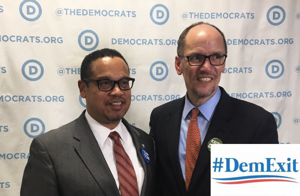 #DemExit Trends on Twitter as Democrats are FURIOUS Over New Pick for DNC Chair