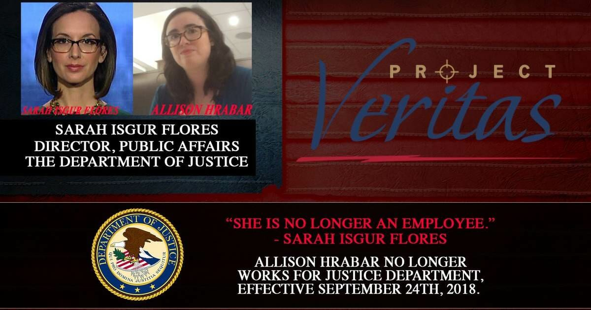O'KEEFE GETS ANOTHER DEEP STATE SCALP=> Socialist Caught Using Govt Databases to Stalk Business Owners OUT AT DOJ