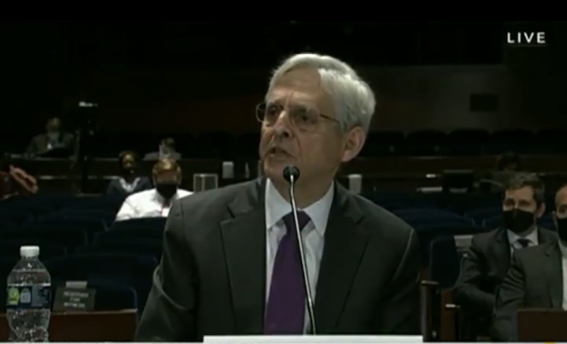 """AG Garland Says He's """"Not Aware"""" Zuckerberg Poured Over $400 Million To Interfere In The 2020 Presidential Election And Takeover Polling Places"""