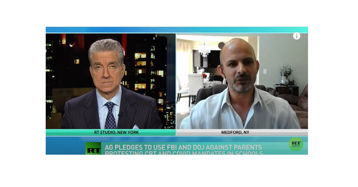 """""""That's What the Government Is Doing, It Wants to Intimidate Parents"""" – Professor Nicholas Giordano with Steve Malzberg on 'Eat the Press'"""