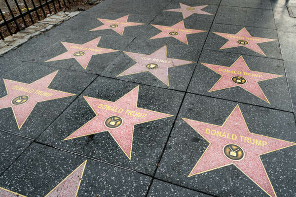 photo image Conservative Street Artists Multiply Trump's Hollywood Walk of Fame Star — Add 30 New TRUMP STARS (VIDEO)