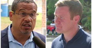 Keith Ellison Down By Seven Points to Doug Wardlow in MN AG Race