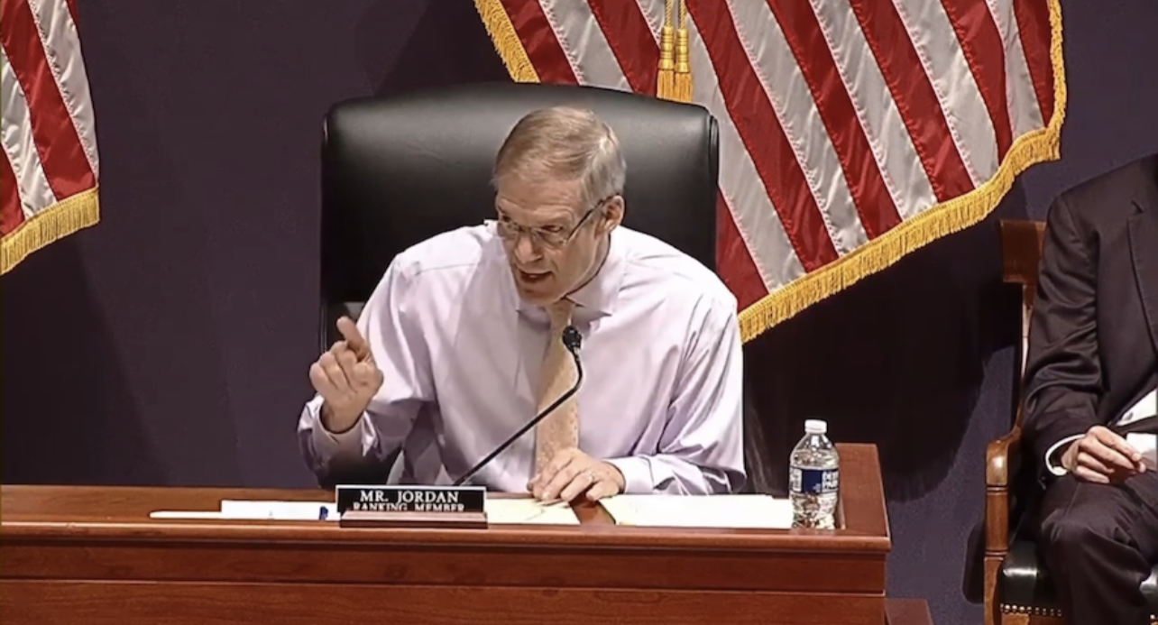 """In Case You Missed It: Rep. Jim Jordan DESTROYS AG Garland at House Hearing: """"Tyranny Is When The People Fear The Government"""""""